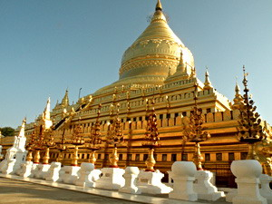 Мьянма: Под золотым зонтом
