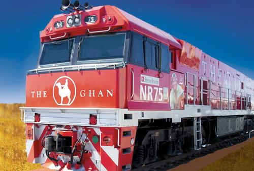 Туристический поезд Ghan