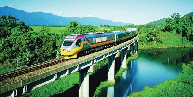 Туристический поезд Sunlander