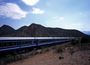 Туристический поезд The Blue Train