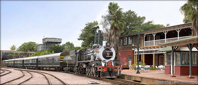 Туристический поезд Rovos Rail