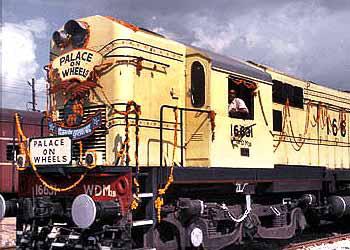 Туристический поезд Palace on Wheels