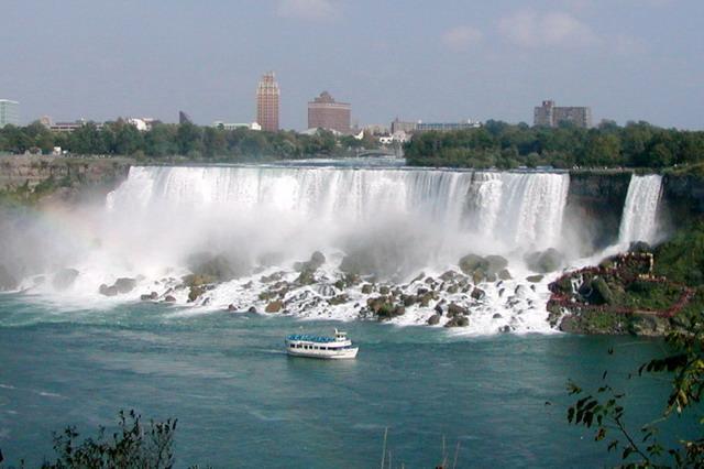 Нью-Йорк - Ниагарский водопад