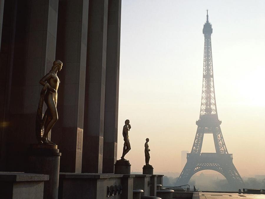 Средиземноморская сказка + Париж
