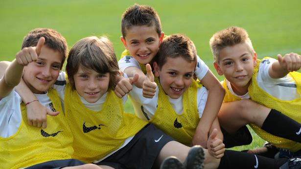 Футбольный лагерь  Juventus в Сестриере